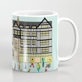 Art Print of Liberty of London Store - Daytime Coffee Mug