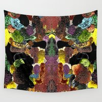 metallic Wall Tapestries featuring metallic by gasponce