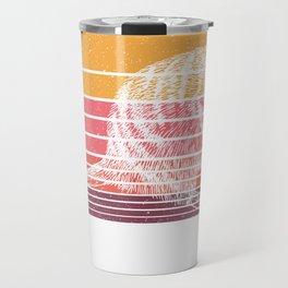 Retro Color Meerkat Travel Mug