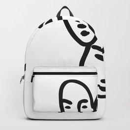 Henri Matisse - Trois Tête Backpack