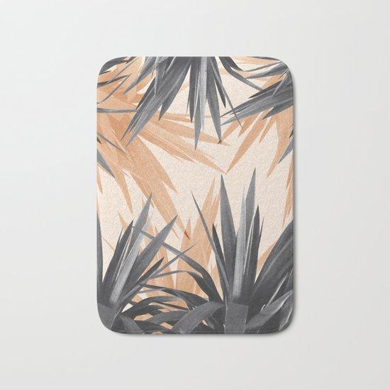 Orange Tropics Bath Mat