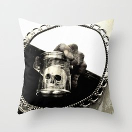Confronting Death Throw Pillow