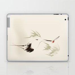 Oriental Red-Crowned Crane 001 Laptop & iPad Skin