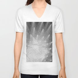 geometry heartbreak Unisex V-Neck