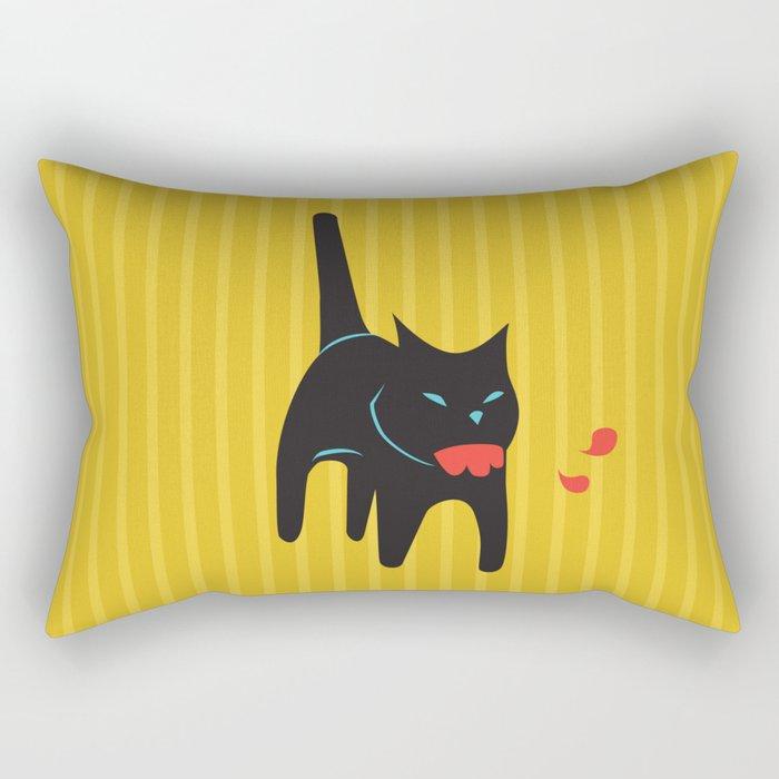 Zombie Cat Hank Rectangular Pillow