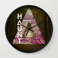 bastille Wall Clocks featuring Bastille - Haunt by Thafrayer