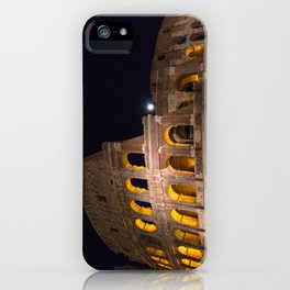 Colosseum by night iPhone Case