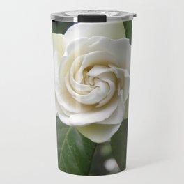 White Gardenia Travel Mug