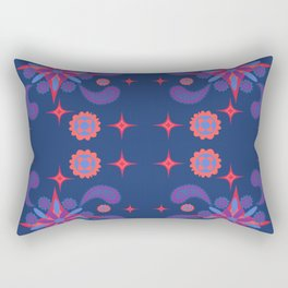 Floral pattern paisley style Rectangular Pillow