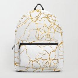 ROME ITALY CITY STREET MAP ART Backpack