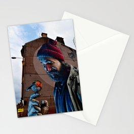 Glasgow Scotland Saint Mungo Street Art Terrace Art Print Stationery Cards