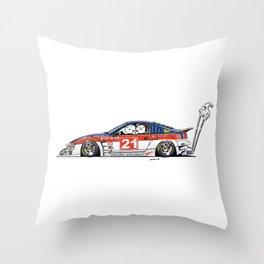 Crazy Car Art 0226 Throw Pillow