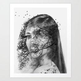The beautiful mutation Art Print