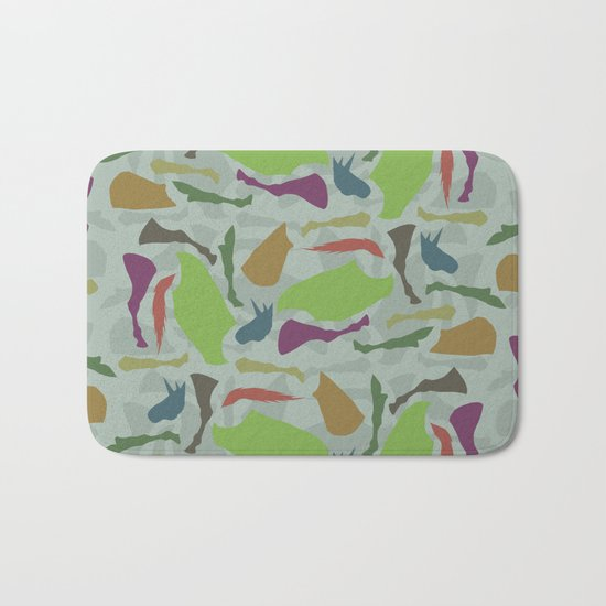 Pieces Of Unicorn Bath Mat