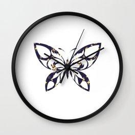 Butterfly 102 Wall Clock