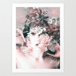 blooming 2 Art Print