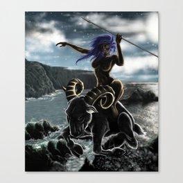 aries - zodiaco Canvas Print