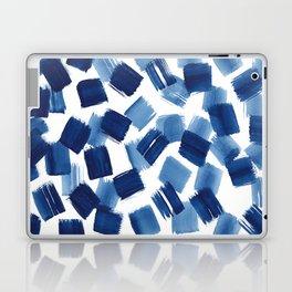 Indigo Brush Strokes | No.1 Laptop & iPad Skin