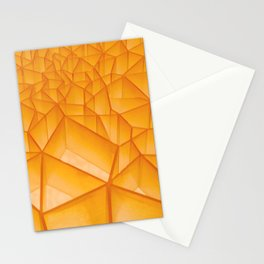 Geometric Plastic Stationery Cards