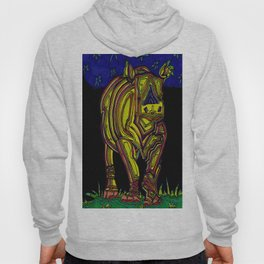 The lonely rhino Hoody