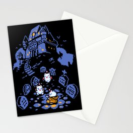 Moogle halloween Stationery Cards