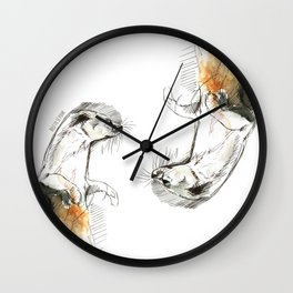 Totem Neotropical otter (c) 2017 Wall Clock