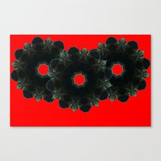 Black Upton Canvas Print