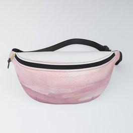 pink blush landscape Fanny Pack