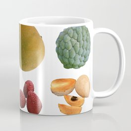 Exotic Fruit Collage Coffee Mug