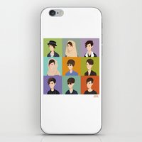 tegan and sara iPhone & iPod Skins featuring Tegan and Sara: Montage by Cas.