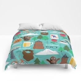 PDX patten Comforters
