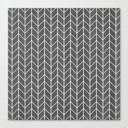 Herringbone Pattern Canvas Print