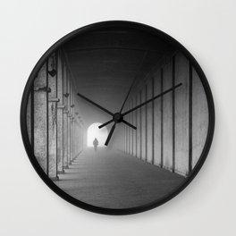 To Mist Wall Clock