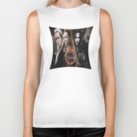 legolas Biker Tanks featuring kili,legolas,tauriel,the hobbit,lord of the rings by ira gora