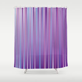 Colorful lines Shower Curtain