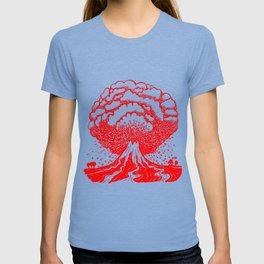 Volcano - Red T-shirt