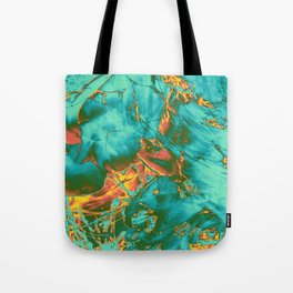 fire opal rift Tote Bag