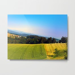 Tipping the scenery Metal Print