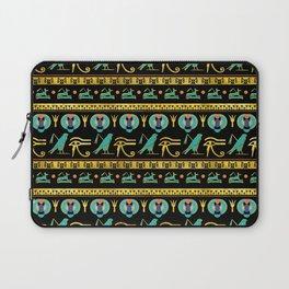 Egyptian  Ornament Symbols Pattern Laptop Sleeve