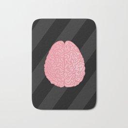 Human Anatomy - Brain Bath Mat