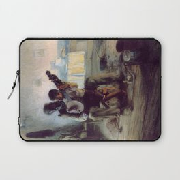 The Banjo Lesson by Henry Ossawa Tanner Laptop Sleeve