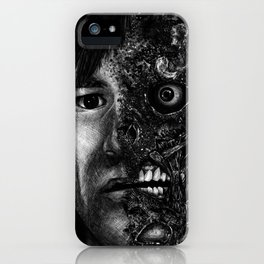 Harvey Dent Two Face - Movie Inspired Art iPhone Case