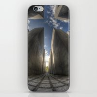 jewish iPhone & iPod Skins featuring Jewish memorial wide by Cozmic Photos
