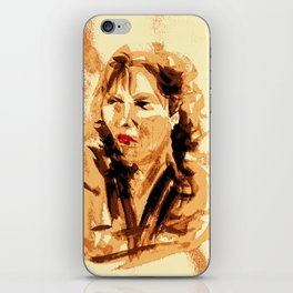 French Woman iPhone Skin