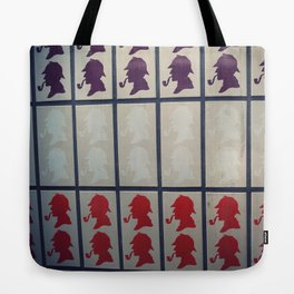 Sherlock in London Tote Bag