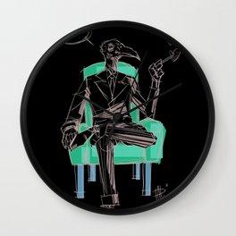 Birdman (Ciao) Wall Clock