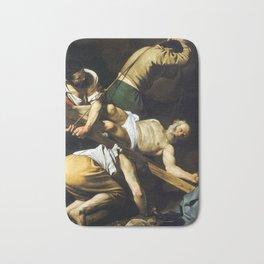 Caravaggio Crucifixion of Saint Peter Bath Mat