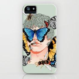 Butterfly Boy iPhone Case