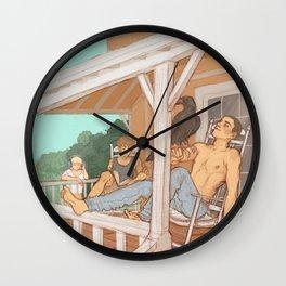 porch (again) Wall Clock