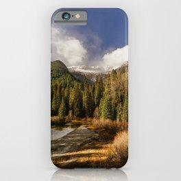 Chiwawa River iPhone Case